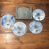 Baldur's Gate 2 II: Shadows of Amn (PC, 2000) 4 Disc Set