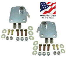1979-2004 Mustang UPR Fixed Race Caster Camber Plates NEW 2014-01
