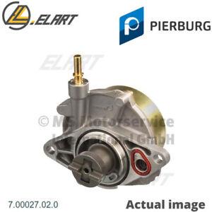 Vacuum Pump,brake system for FIAT,PEUGEOT PIERBURG 7.00027.02.0