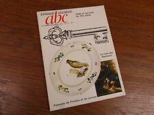 REVUE ABC ANTIQUITES 1975 - COTE BARBIZON FIAENCES FROIDOS LAVOYE CLEFS 18e