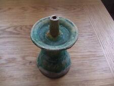 CHINA.  MING DYNASTY  16th/17th CENTURY  A GREEN GLAZED INSENCE BURNER.