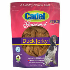 Cadet Duck Jerky Treats For Adult Dogs 2.5 lb Product of Germany
