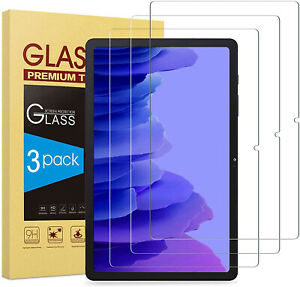 3X For Samsung Galaxy Tab A7 10.4'' 2020 SM-T500 Tempered Glass Screen Protector