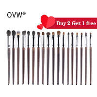 OVW Eyeshadow Brush Set Natural Hair Crease Blending Shader Brush For Eye Makeup
