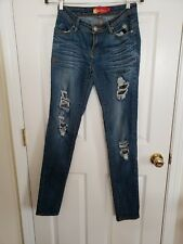 Women's Distressed Skinny Apple Bottom Jeans Size 5/6
