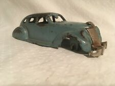 Hubley Cast Iron Lincoln Zephyr Pre War Toy 7 inches long