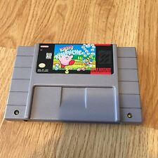 Kirby's Avalanche Super Nintendo Snea Cart Only Tested Works Cool Game NG5