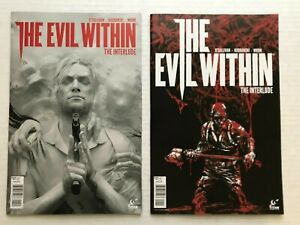 The Evil Within The Interlude 1 2 Titan Comics 2017 Video Game Comic Book