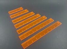 Measuring Sticks Widgets for Guild ball or any game Mini Duels Acrylic