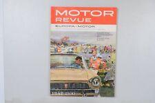 Motor Revue Europa Motor Ausgabe 35 Herbstausgabe 1960
