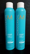 MOROCCAN OIL Luminous Finish Hairspray MEDIUM 10 oz - LOT OF (2) BOTTLES