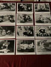 Disney The Great Mouse Detective 1986 Lobby Card Set Of 12 B&W M46