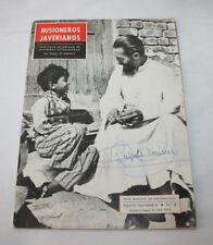 ANTIGUA REVISTA MISIONEROS JAVERIANOS Nº 6 ABRIL 1963