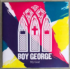 BOY GEORGE * MY GOD * UK 3 TRK PROMO * HTF! * THIS IS WHAT I DO * ASH HOWES