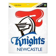 BIG JUMBO NRL Newcastle Knights Car Wheelie Bin Shed Window Sticker Man Cave