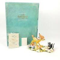 "WDCC Bambi ""He Can Call Me Flower If He Wants To"" #2154/10000 w/Box + COA *read"