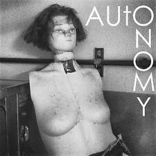 NEW Autonomy/Doom Town split LP limited COLOR VINYL Chinese Telephones/Humanoids