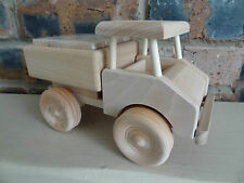 Truck with wooden blocks , wooden beautiful toy