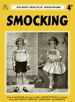Weldon's 4D #88 c.1934 Vintage Instructions for Smocking Sewing Designs for Kids