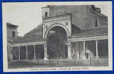 CIVITA CASTELLANA Portico dei Cosmati no viaggiata anni 20  f/p #20245