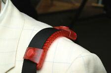 "2"" WIDTH ERGOPAD NONSLIP SHOULDER STRAP PAD LAPTOP BAG ACCESSORY IN RED"