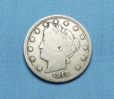 "1912 Liberty Head Nickel - ""F+"""