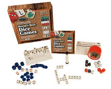 WORLD'S BEST DICE GAMES - SET WITH 25 DIFFERENT GAMES FRONT PORCH CLASSICS