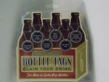 Charcoal Companion ~ Bottle Tags*Claim Your Drink - For Beer or Soda Pop Bottles