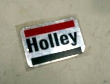 VINTAGE HOLLEY CARB FACTORY DECAL