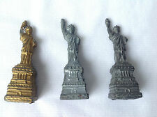New listing Early 1900s Statue of Liberty Pot Metal Souvenir Figurines Figures New York City