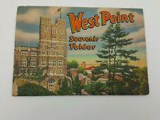 Souvenir Folder Booklet West Point Military Academy Folder Ruben Publishing