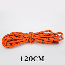 Multi Color Cotton Waxed Round Cord String Dress Shoe Laces Shoelaces 85cmB bk