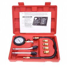 8pc Petrol Engine Cylinder Compression Tester Kit Gauge Tool Automotive Test Kit