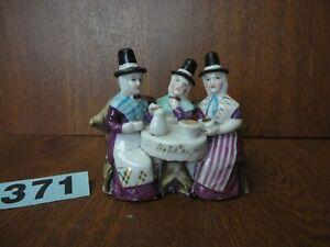 Antique German Victorian Fairing - The Welsh Tea Party