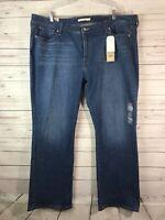 Levis 415 Classic Bootcut Jeans Womens Sz 24W Mid Rise Stretch Denim Pants NWT