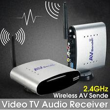 2.4Ghz 150m Wireless AV Sender STB TV Audio Video Signal Transmitter Receiver