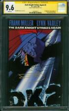 Batman Dark Knight Strikes 2 CGC 9.6 SS Frank Miller 1st Lara Superman Daughter