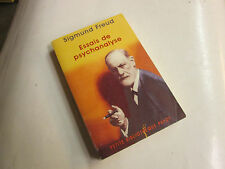 essais de  psychanalyse ...PAYOT ....FREUD (Sigmund)