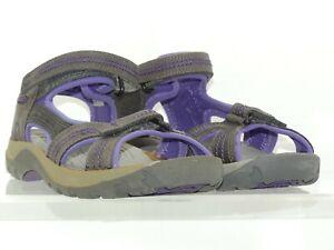 KEEN JURA Damen Outdoor-Sandalen, Obermaterial aus Leder. B-Ware