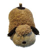 """Pillow Pet Pee Wee Brown Dog Plush Toy 11"""" Wide Kids Plush Lovey Stuffed Animal"""
