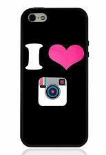 I LOVE INSTAGRAM iPhone 5 5s Printed Case for Apple PC & TPU