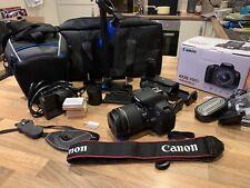 ** Canon EOS 700D 18.0MP Fotocamera Reflex Digitale-CON KIT LENTI E COMPLETO!!! **