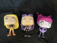 New listing Funko pop Teen Titans Lot No Boxes Jinx Blackfire Terra Used But Only Displayed