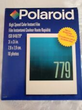 Polaroid 779 High Speed Color Instant Film 10 Prints Instant Film Camera