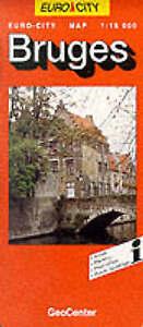 Bruges by GeoCenter International Ltd (Sheet map, folded).New.End of Stock!