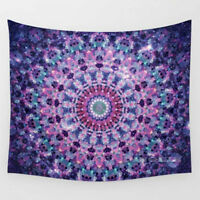 Indian Mandala Tapestry Wall Hanging Hippie Throw Decor Bohemian Dorm Bedspread