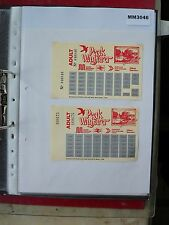 M3046 Peak District. 2 Wayfarer Bus/Tram Ticket/s. Joint Service. 1980s
