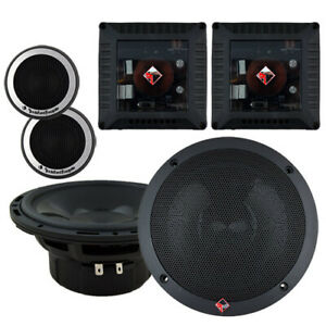 """Rockford Fosgate T1650-S 6.5"""" 2-Way Component System"""