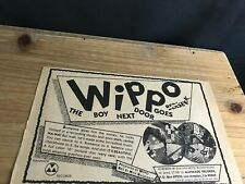1980 Vintage 5.5X8.5 Album Promo Print Ad For Wippo Boy Next Door Goes Berserk
