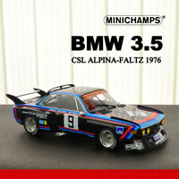 1:18 Scale Minichamps BMW 3.5 CSL ALPINA-FALTZ 1976 Diecast Car Model Collection